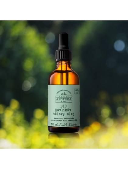 Bio Havlíkův tělový olej - 30ml