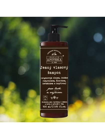 Jemný vlasový šampon 500 ml